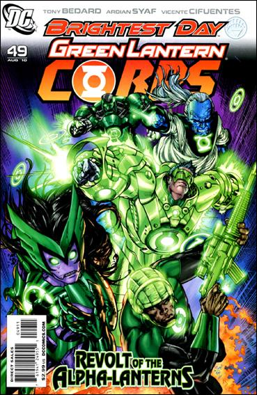 Green Lantern Corps (2006) 49-A by DC