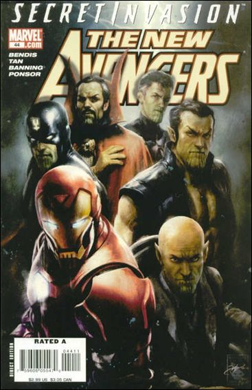 New Avengers (2005) 44-A by Marvel