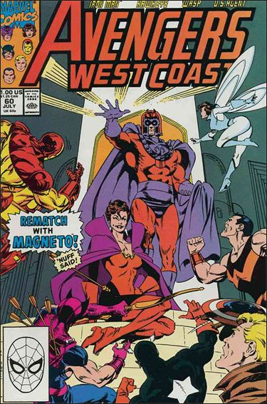 Avengers West Coast 60-A by Marvel