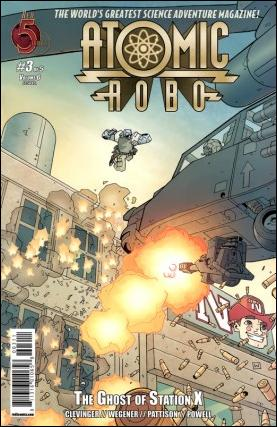 Atomic Robo and the Ghost of Station X 3-A by Red 5 Comics