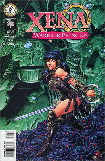 Xena: Warrior Princess (1999) 5-A by Dark Horse