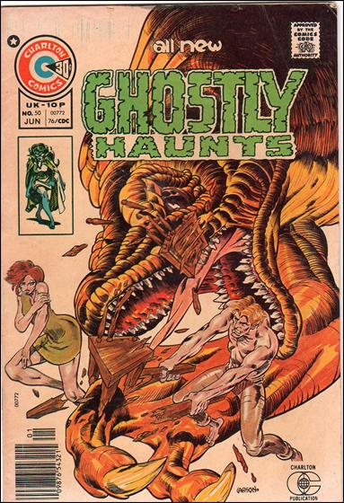 Ghostly Haunts 50-A by Charlton