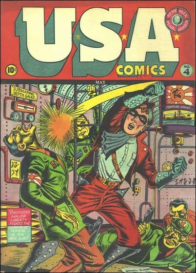 USA Comics 4-A by Marvel