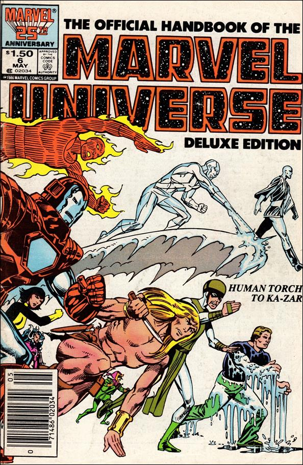 Official Handbook of the Marvel Universe (1985) 6-A by Marvel