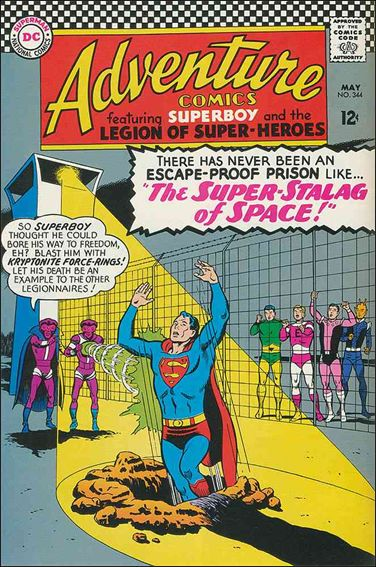 Adventure Comics (1938) 344-A by DC