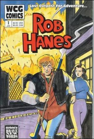 Rob Hanes 1-A by WCG Comics