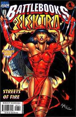 Elektra Battlebook: Streets of Fire 1-A by Marvel
