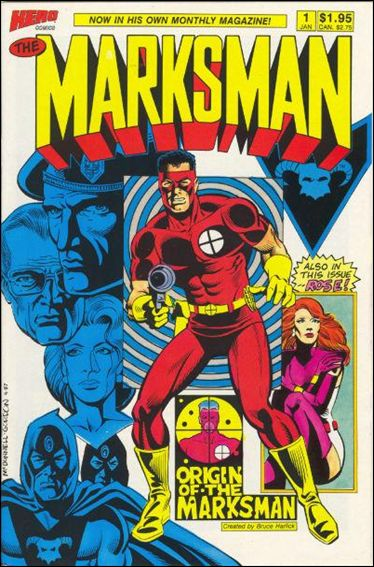 Marksman (1988) 1-A by Hero Comics