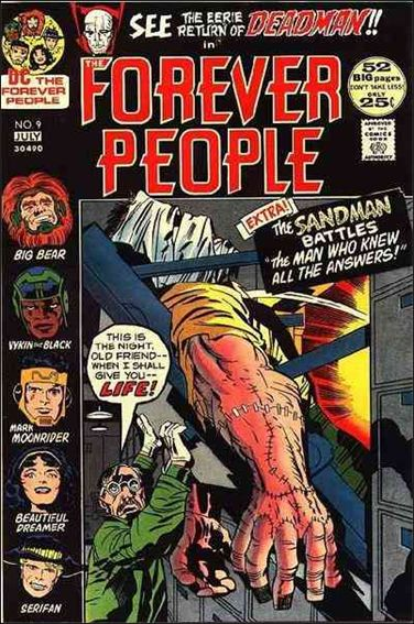 Forever People (1971) 9-A by DC
