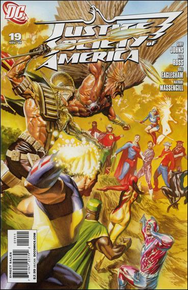Justice Society of America (2007) 19-A by DC