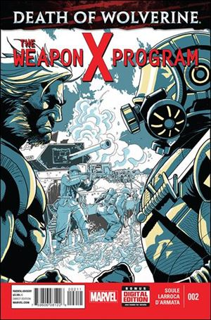 Death of Wolverine: The Weapon X Program 2-A