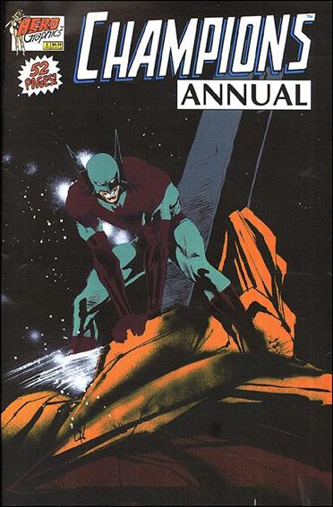 Champions Annual 2-A by Hero Comics