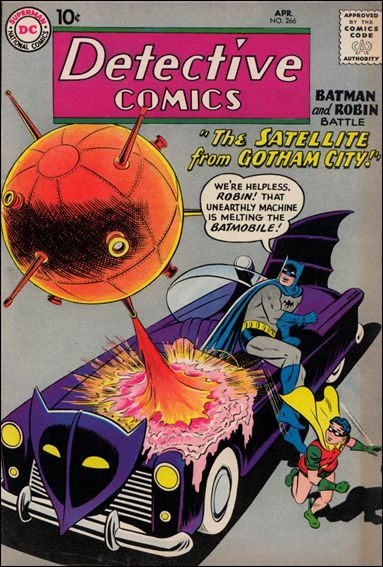 Detective Comics (1937) 266-A by DC