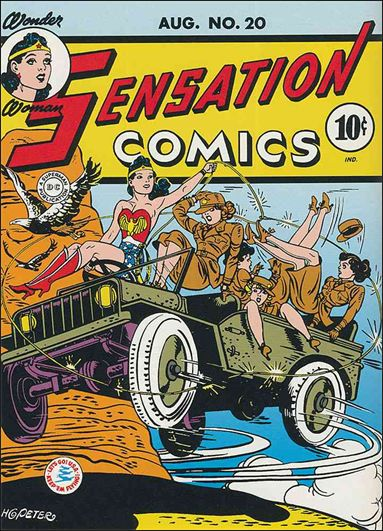 Sensation Comics (1942) 20-A by DC
