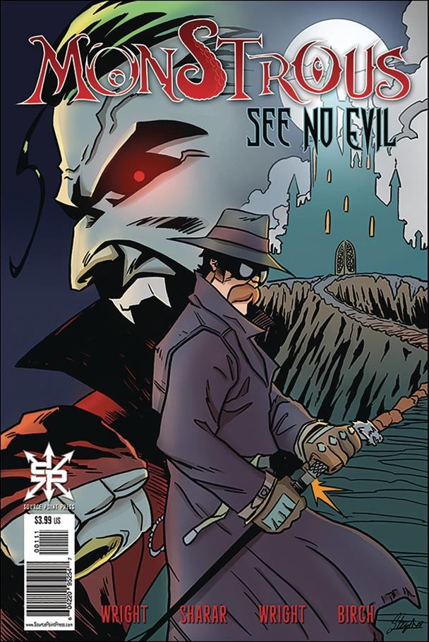 Monstrous: See No Evil One-Shot-A by Source Point Press