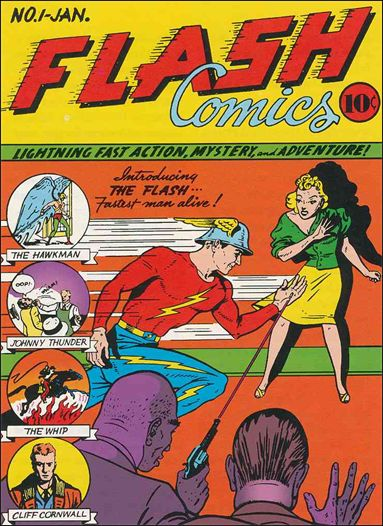 Flash Comics (1939) 1-A by DC