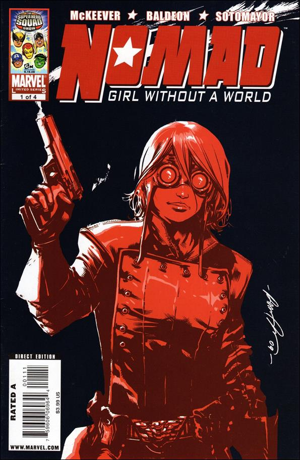 Nomad: Girl Without a World 1-A by Marvel