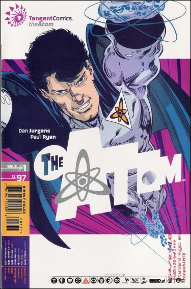 Tangent Comics/The Atom 1-A by DC