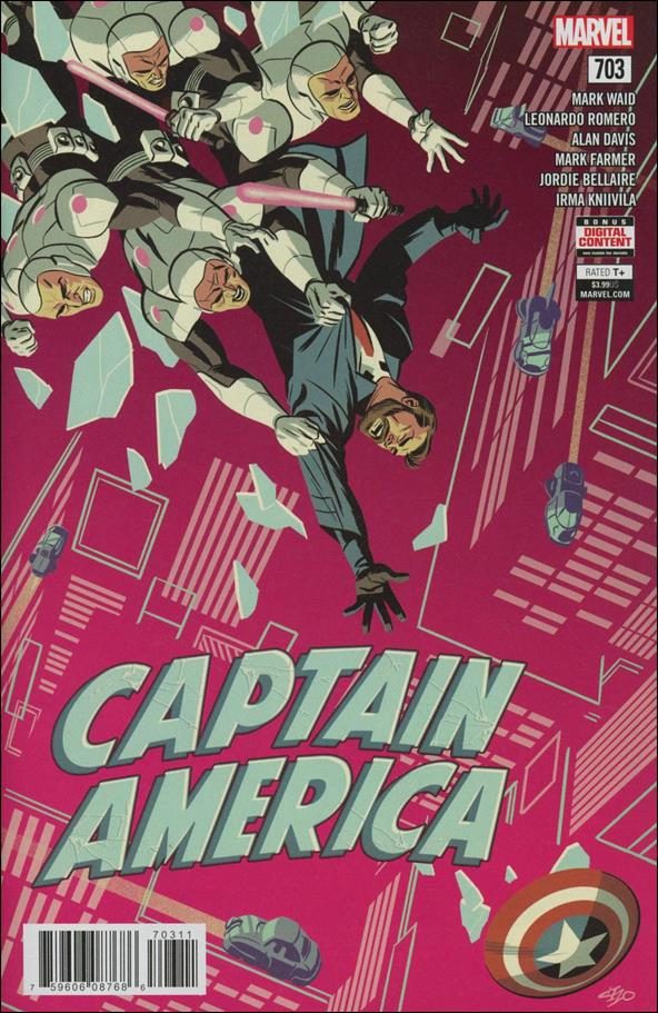 Captain America (1968) 703-A by Marvel