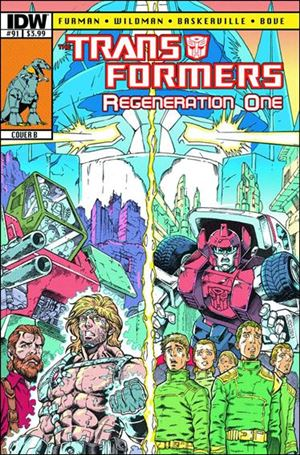 Transformers: Regeneration One 91-B