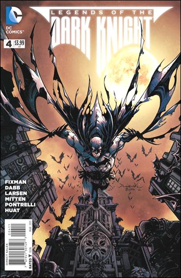 Legends of the Dark Knight 4-A by DC