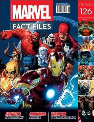 Marvel Fact Files 126-A