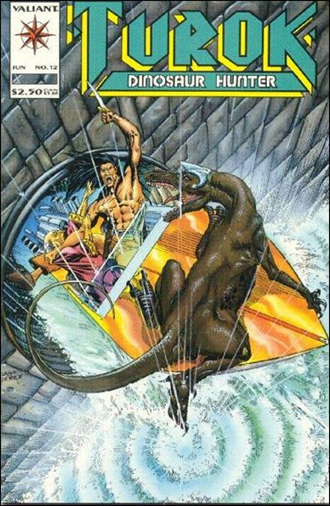 Turok, Dinosaur Hunter (1993) 12-A by Valiant