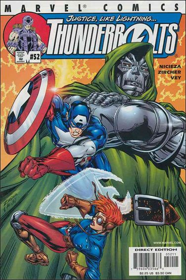 Thunderbolts (1997) 52-A by Marvel