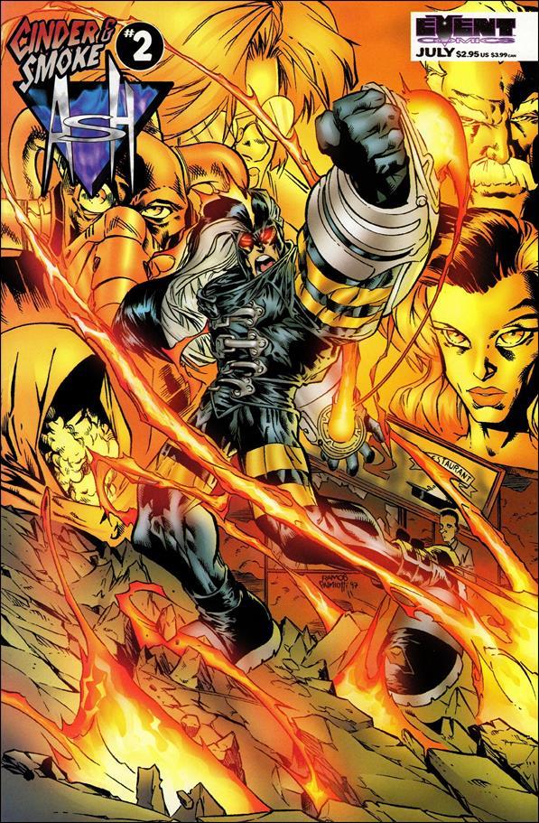 Ash: Cinder & Smoke 2-A by Event Comics