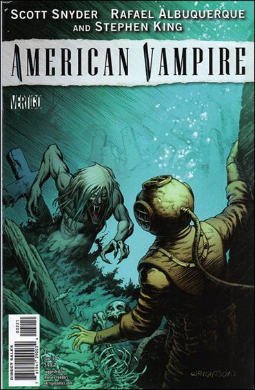 American Vampire 2-B by Vertigo