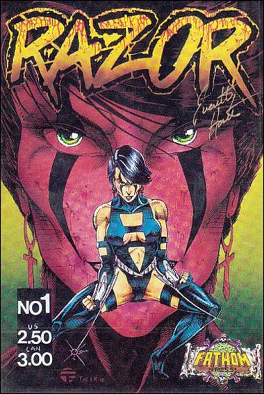 Razor (1991) 1-B by London Night