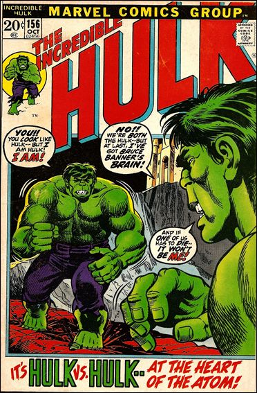 Incredible Hulk (1968) 156-A by Marvel