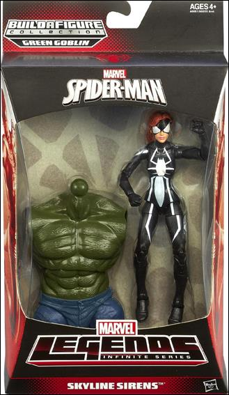 Marvel Legends Infinite: Spider-Man (Green Goblin Series) Skyline Sirens (Spider-Girl) by Hasbro