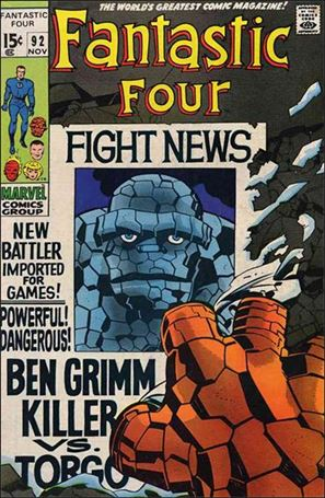 Fantastic Four (1961) 92-A