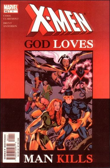 X-Men: God Loves, Man Kills 1-B by Marvel