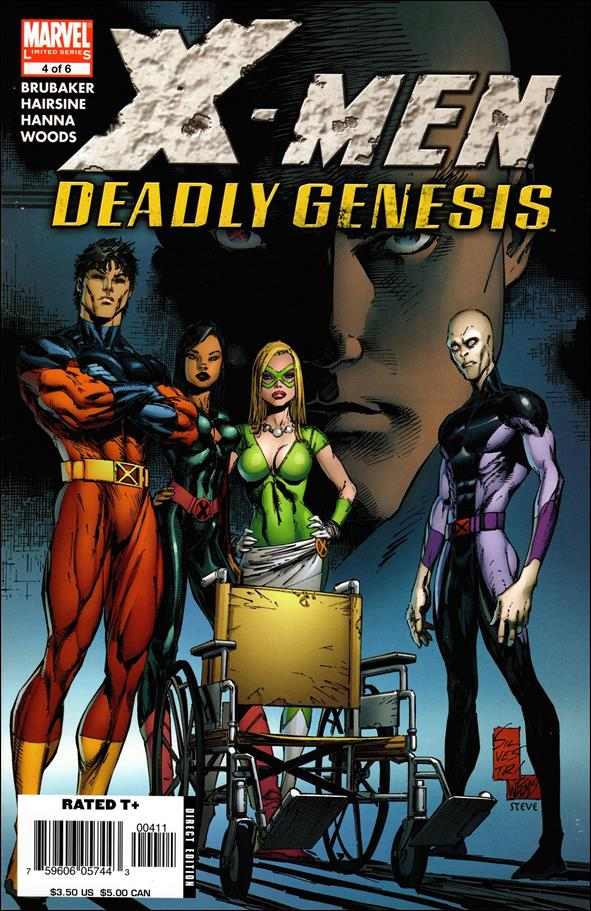 X-Men: Deadly Genesis 4-A by Marvel