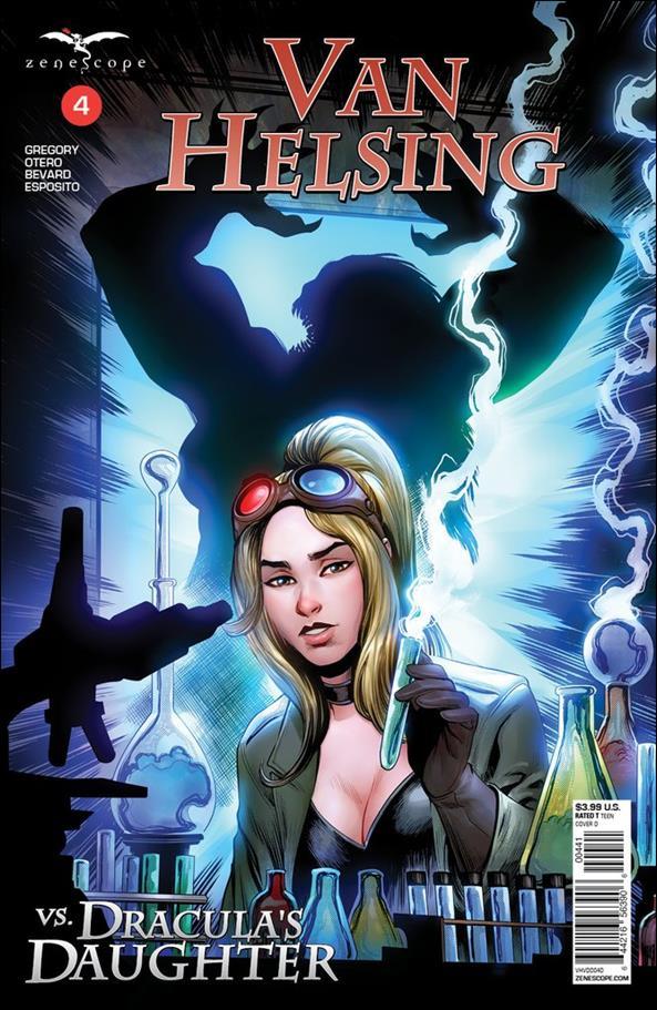 Van Helsing vs Dracula's Daughter 4-D by Zenescope Entertainment