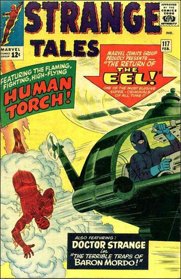 Strange Tales (1951) 117-A by Marvel