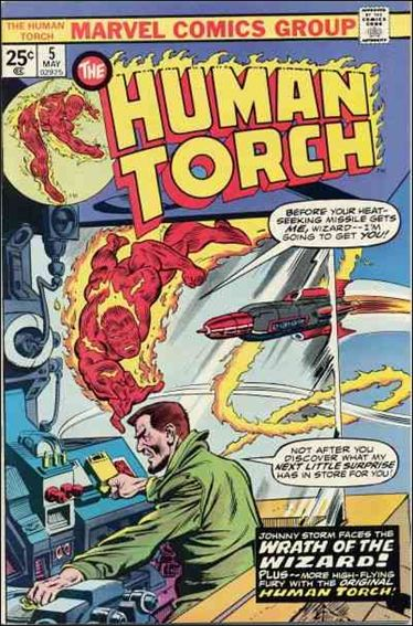 Human Torch (1974) 5-A by Marvel