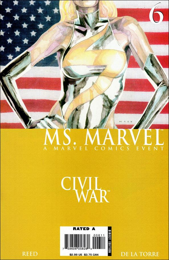 Ms. Marvel (2006) 6-A by Marvel