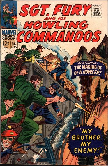 Sgt. Fury and His Howling Commandos 36-A by Marvel