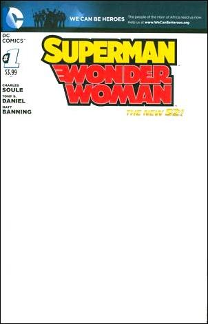 Superman/Wonder Woman 1-G by DC