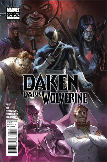 Daken: Dark Wolverine 1-C by Marvel