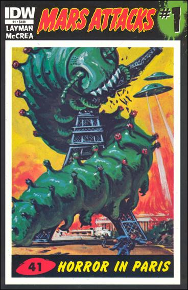 Mars Attacks (2012) 1-ZO by IDW