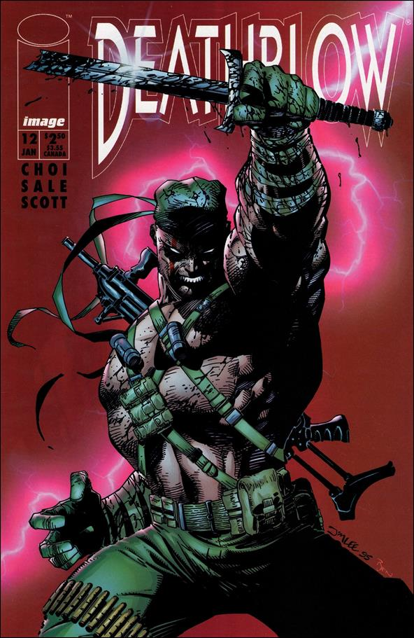 Deathblow (1993) 12-A by Image