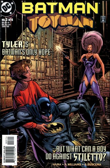 Batman: Toyman 3-A by DC