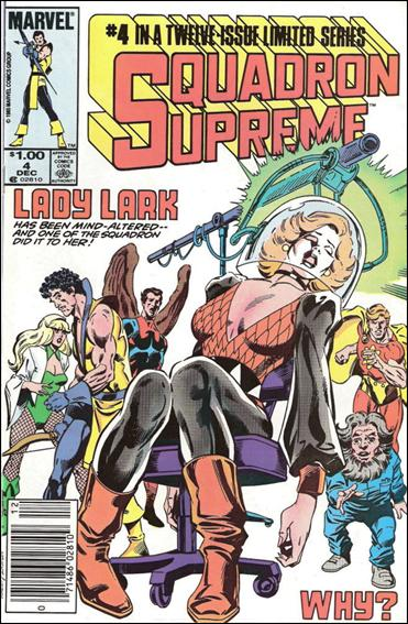 Squadron Supreme (1985) 4-B by Marvel