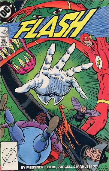 Flash (1987) 23-A by DC