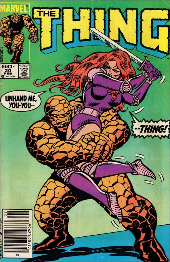 Thing (1983) 20-A by Marvel
