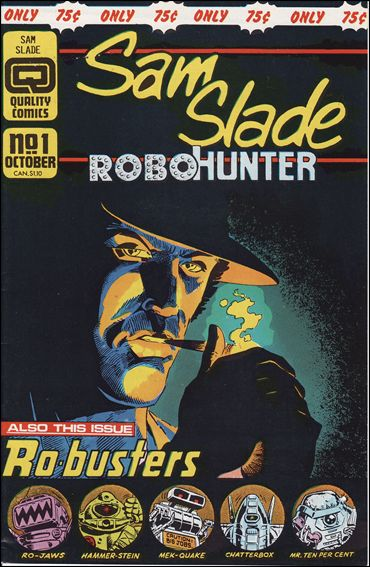 Sam Slade Robo Hunter 1-A by Quality Comics